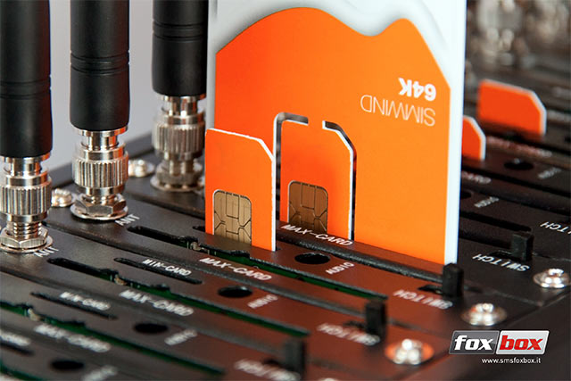 FoxBox RACK SIM cards Detail