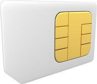 FoxBox use a commercial SIM card